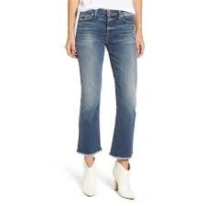 7 For All Mankind Cropped Bootcut Jeans - 25
